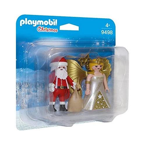 PLAYMOBIL 9498 CHRISTMAS - Santa and Christmas Angel