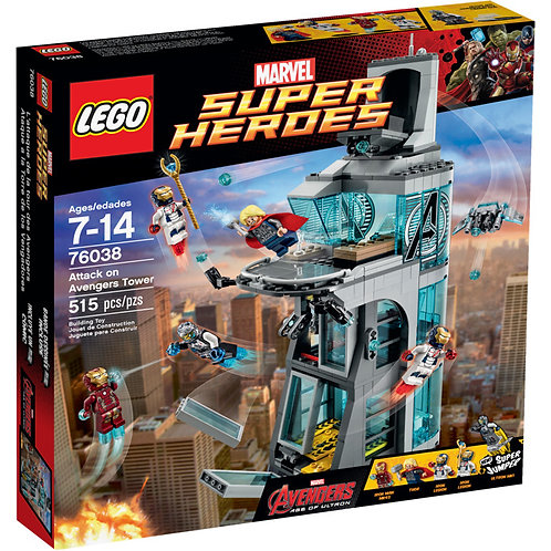 LEGO 76038 SUPER HEROES - Attack on Avengers Tower