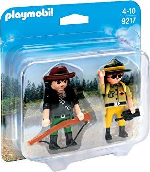 PLAYMOBIL 9217 - Ranger and Hunter