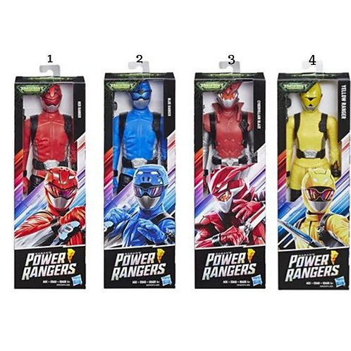 POWER RANGERS 12IN BMR ACTION FIGURES (E5914)
