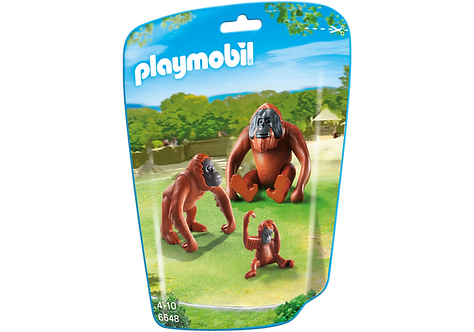 PLAYMOBIL 6648 CITY LIFE - Orangutan Family