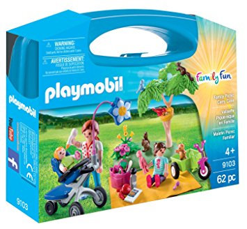 PLAYMOBIL 9103 FAMILY FUN - Family Picnic Carry Case
