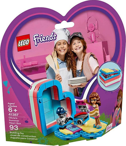 LEGO 41387 FRIENDS - Olivia's Summer Heart Box