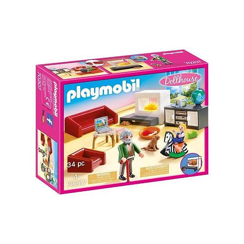 PLAYMOBIL 70207 DOLLHOUSE - Comfortable Living Room