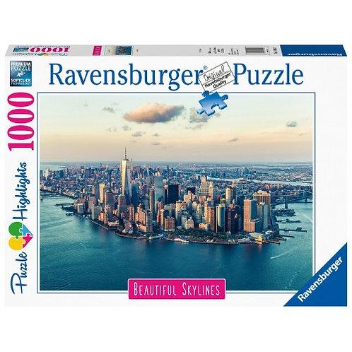RAVENSBURGER PUZZLE 1000 PCS NEW YORK