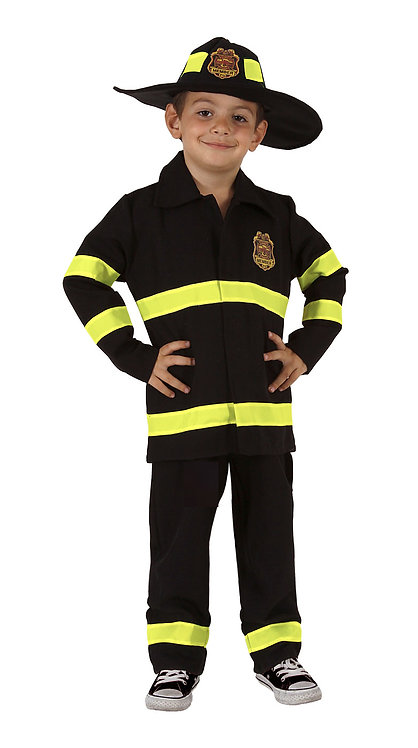 CARNIVAL COSTUME FIREFIGHTER