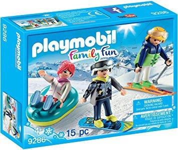 PLAYMOBIL 9286 - Winter Sports Trio