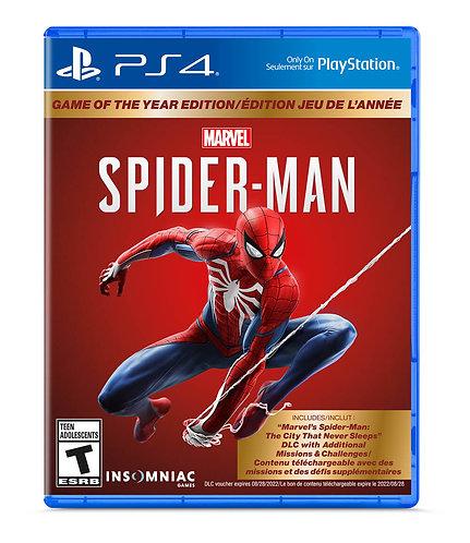PS4 MARVEL SPIDER-MAN GOTY