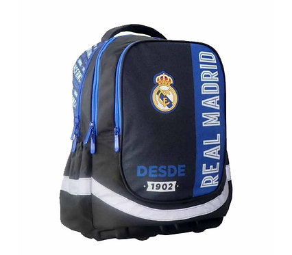 REAL MADRID BACKPACK - 3 CASES