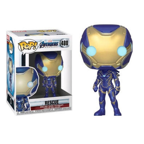 FUNKO POP! MARVEL AVENGERS ENDGAME - RESCUE #480 VINYL FIGURE