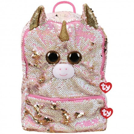TY FANTASIA SEQUIN SQUARE BACKPACK (95056)