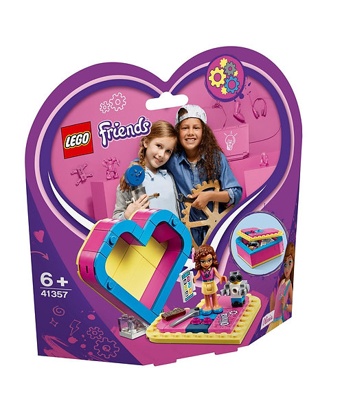 LEGO 41357 FRIENDS - Olivia's Heart Box