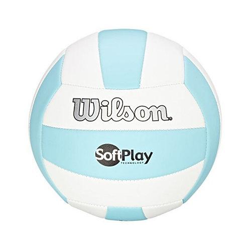 WILSON SOFT PLAY BEACH VOLLEY BALL - BLUE/WHITE