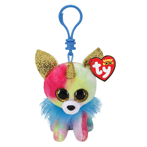 TY YIPS CHIHUAHUA WITH HORN PLUSH CLIP 8,5CM