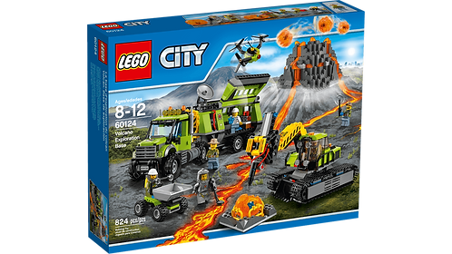 LEGO 60124 CITY - Volcano Exploration Base