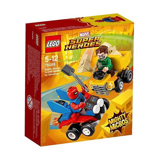 LEGO 76089 SUPER HEROES - Mighty Micros: Scarlet Spider vs Sandman
