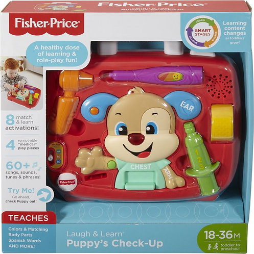 FISHER-PRICE LAUGH & LEARN PUPPY'S CHECK-UP (FTN29)
