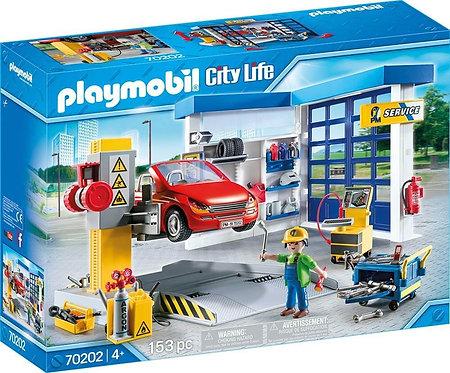 PLAYMOBIL 70202 CITY LIFE - Car Repair Garage