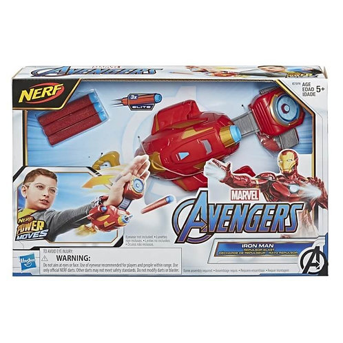 NERF AVENGERS POWER MOVES ROLE PLAY IRON MAN (E7376)