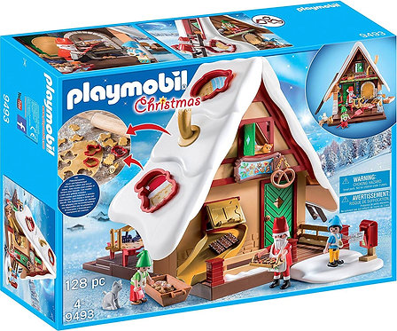 PLAYMOBIL 9493 CHRISTMAS - Bakery with Cookie Cutters