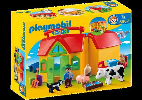 PLAYMOBIL 6962 1.2.3 - My Take Along Farm
