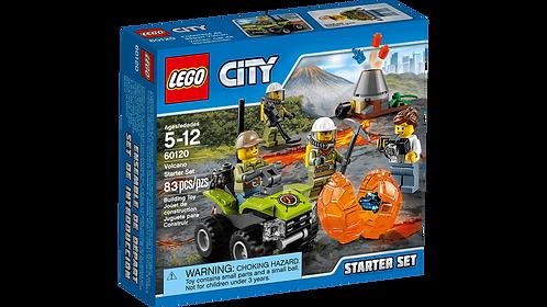 LEGO 60120 CITY - Volcano Starter Set