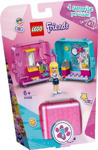 LEGO 41406 FRIENDS - Stephanie's Shopping Play Cube