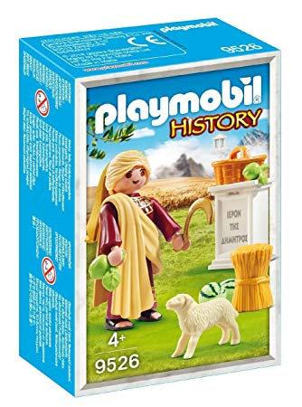 PLAYMOBIL 9526 HISTORY - Demetra Greek Goddess