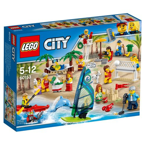 LEGO 60153 CITY - People Pack Fun at the Beach