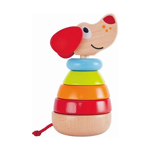 HAPE PEPE & FRIENDS WOODEN STACKER PEPE WITH SOUNDS (E0448A)
