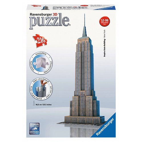 3D PUZZLE MIDI 216 PCS EMPIRE STATE BUILDING