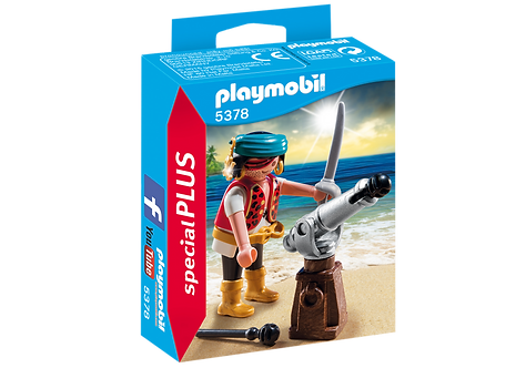 PLAYMOBIL 5378 - Pirate with Cannon
