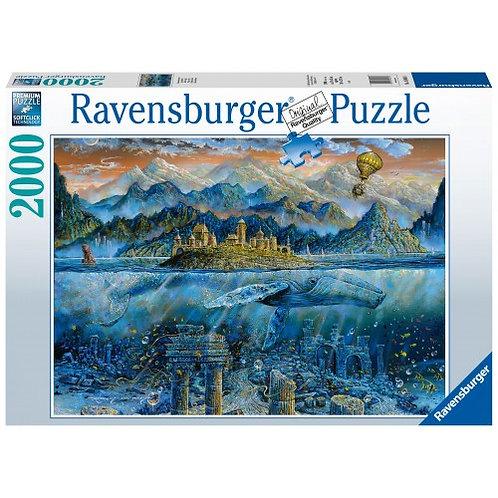 RAVENSBURGER PUZZLE 2000 PCS WISDOM WHALE