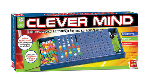 REAL FUN TOYS CLEVER MIND BOARDGAME