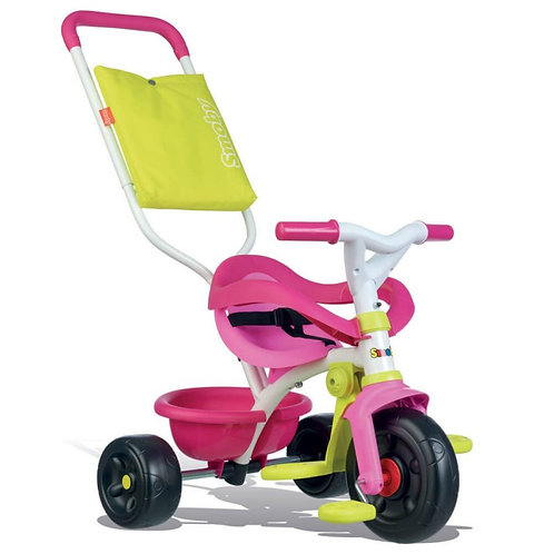 SMOBY BE FUN PINK COMFORT TRICYCLE (7/740406)