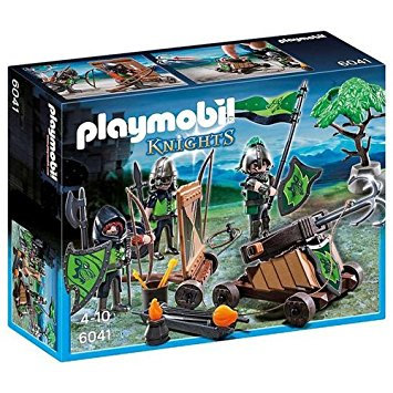 PLAYMOBIL 6041 KNIGHTS - Wolf Knights with Catapult