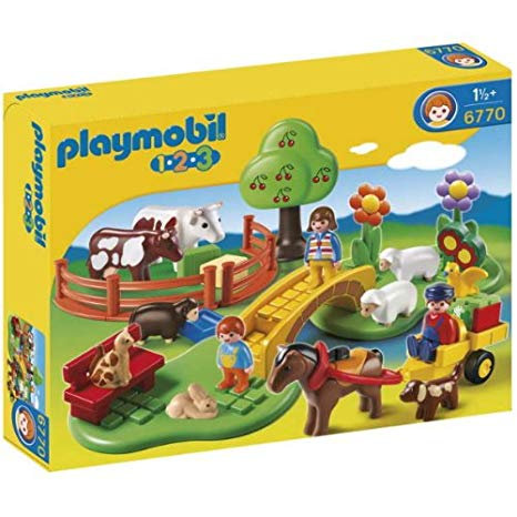 PLAYMOBIL 6770 1.2.3 - Countryside