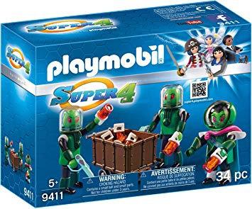 PLAYMOBIL 9411 SUPER 4 - Sykronian
