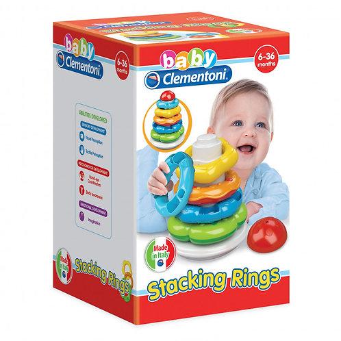 Baby Clementoni - Stacking Rings