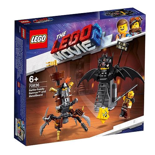 LEGO 70836 THE LEGO MOVIE 2 - Battle-Ready Batman™ and MetalBeard