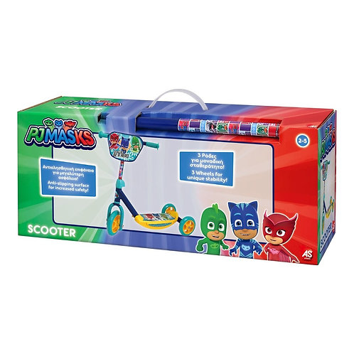 EASTER CANDLE 3-WHEEL SCOOTER PJ MASKS