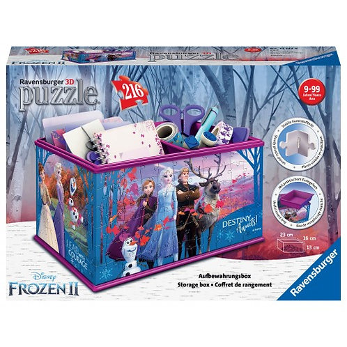 3D PUZZLE 216 PCS STORAGE BOX FROZEN 2