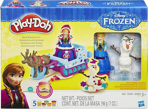 PLAY-DOH FROZEN SLED ADVENTURE