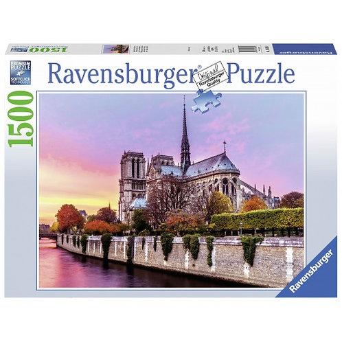 RAVENSBURGER PUZZLE 1500 PCS PICTURESQUE NOTRE DAME