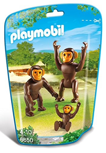 PLAYMOBIL 6650 CITY LIFE - Chimpanzee Family