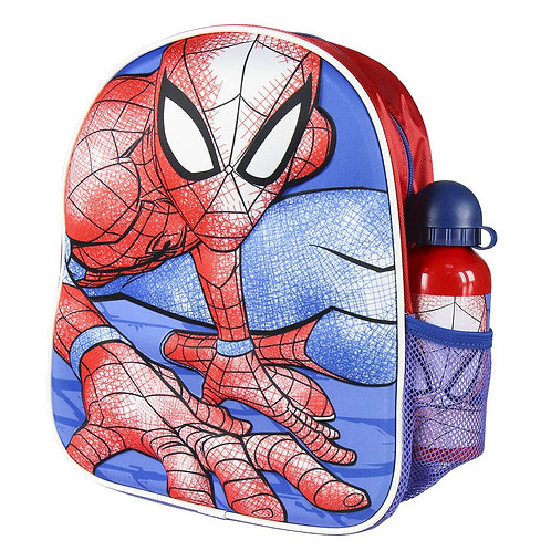 BACKPACK 3D WITH ACCESSORIES SPIDERMAN (2100003054)
