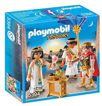 PLAYMOBIL 5394 HISTORY - Caesar and Cleopatra