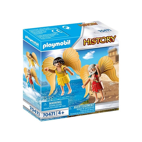 PLAYMOBIL 70471 HISTORY - Daedalus and Icarus