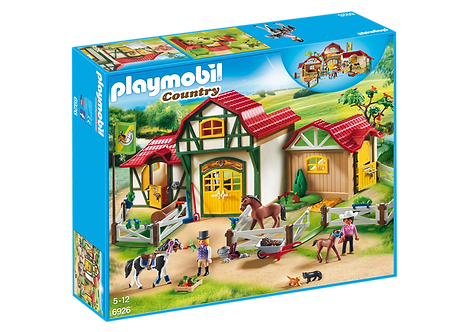 PLAYMOBIL 6926 COUNTRY - Large Horse Farm