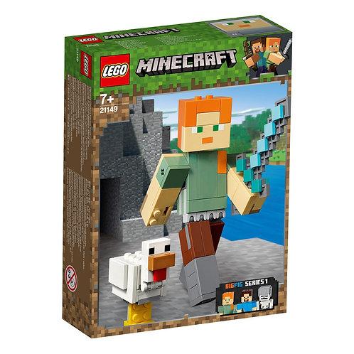 LEGO 21149 MINECRAFT - Alex BigFig with Chicken